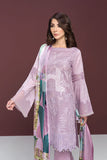 41906135 -Lawn & Cambric - Purple Digital Printed Dyed Embroidered 2PC