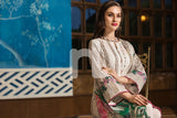 41907284-Crinkle Chiffon, Slub Lawn & Cambric - Beige Digital Printed Embroidered 3PC