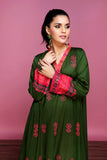 42001313- Printed Embroidered Lawn & Cambric 2PC