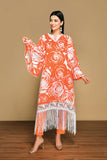 42001320- Printed Embroidered Lawn & Cambric 2PC