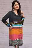 42003623- Digital Printed Cotton Karandi 2PC