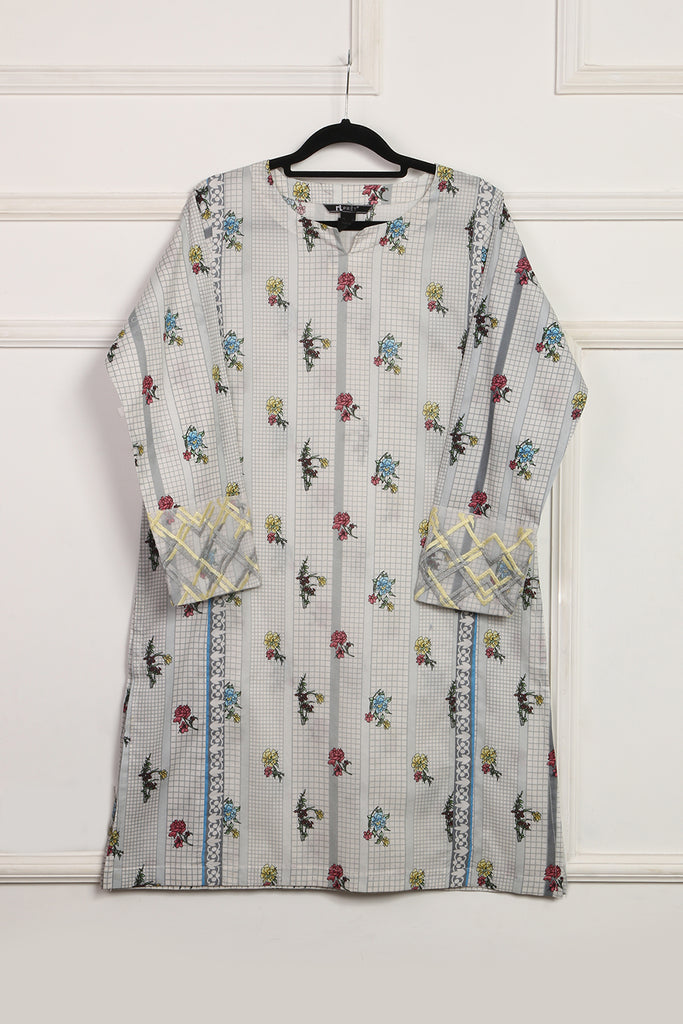 DS01-01 Digital Printed Stitched Shirt - 1PC
