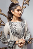 PE19-102 Off White Digital Printed Stitched Lawn Shirt - 1PC