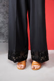PE20-23 Dyed Embroidered Stitched Cambric Trouser