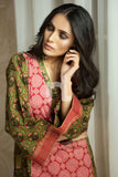 PS19-158 Red Printed Stitched Lawn Shirt - 1PC