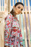 PS19-74 Pink Digital Printed Stitched Lawn Shirt - 1PC