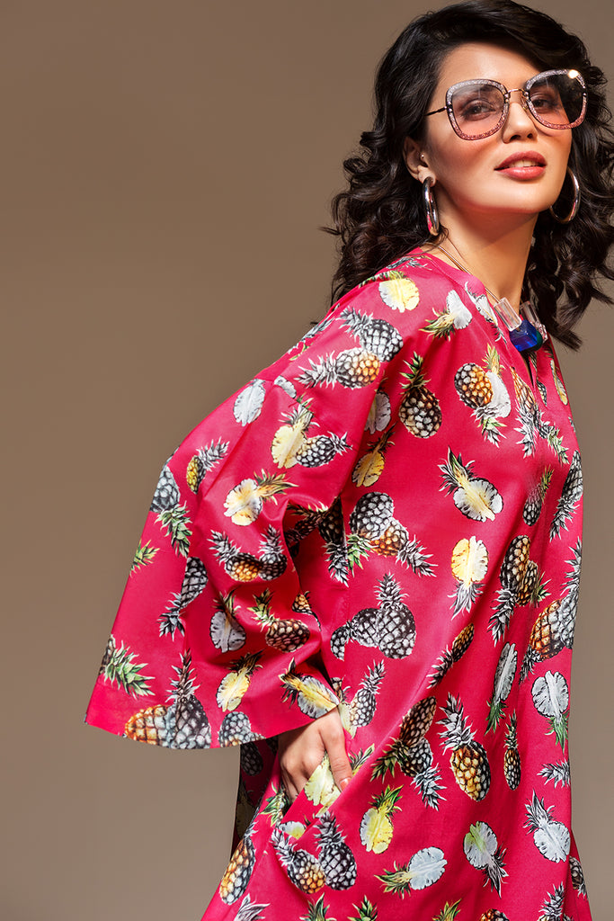 PS20-108 Digital Printed Stitched Lawn Shirt - 1PC