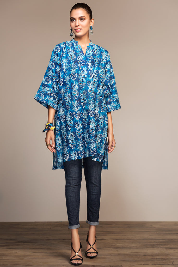 PS20-115 Digital Printed Stitched Lawn Shirt - 1PC