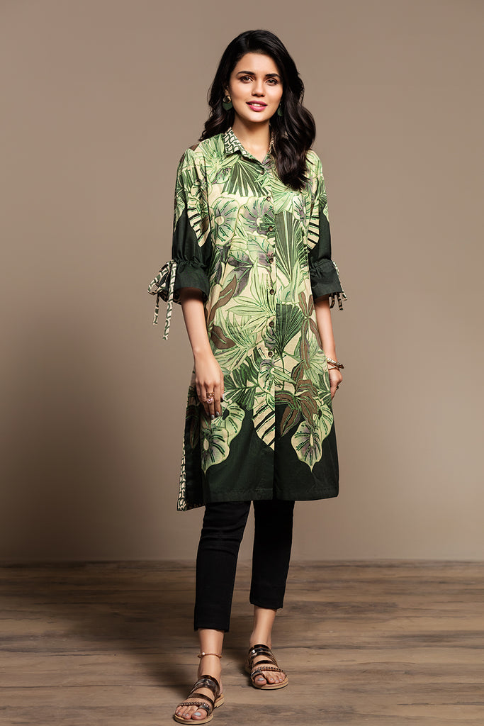 PS20-116 Digital Printed Stitched Lawn Shirt - 1PC