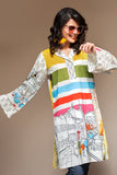PS20-11 Digital Printed Stitched Lawn Shirt - 1PC