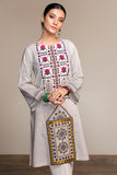 PS20-127 Printed Embroidered Stitched Lawn Shirt - 1PC