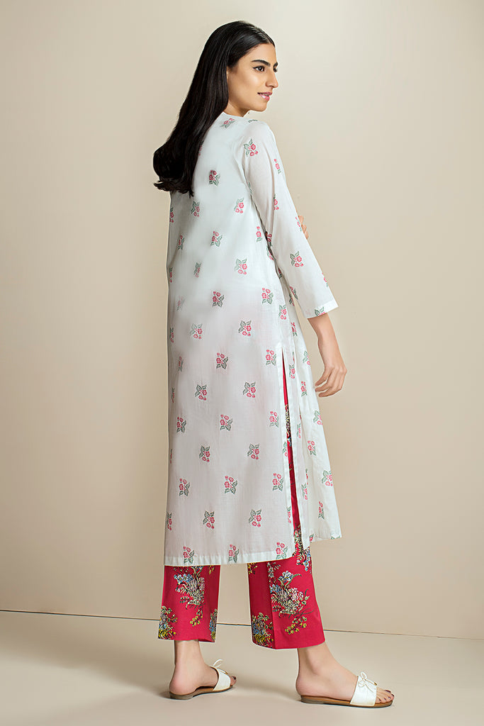 PS20-166 Printed Stitched Lawn Shirt & Trouser - 2PC