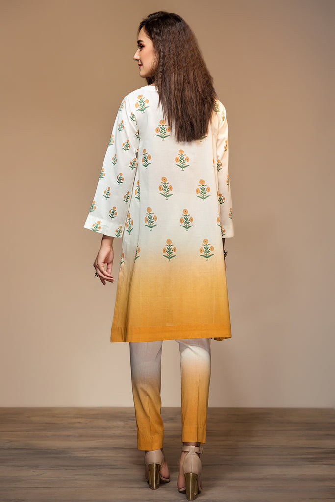 PS20-56 Printed Embroidered Stitched Lawn Shirt & Trouser - 2PC