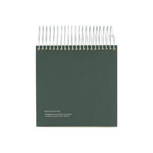 Note Pad Dark Green