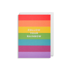 Mini Card - Follow your rainbow