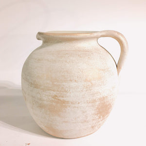 Galisee Vase White Gold