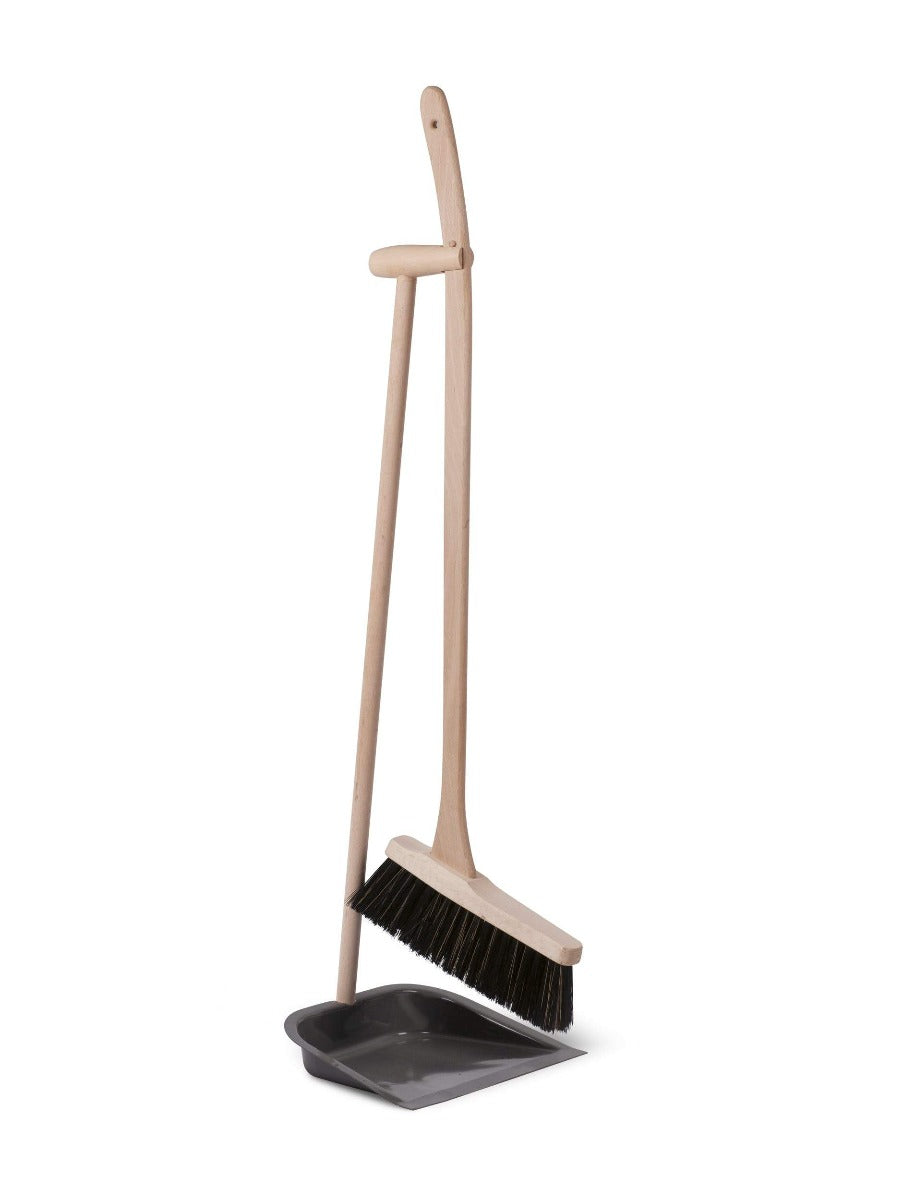 Dustpan & Brush with Beech Handle