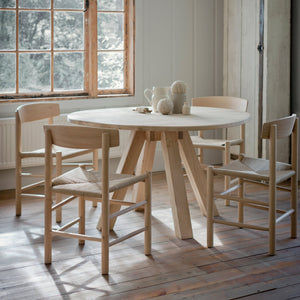Hambledon Dining Table Raw Oak