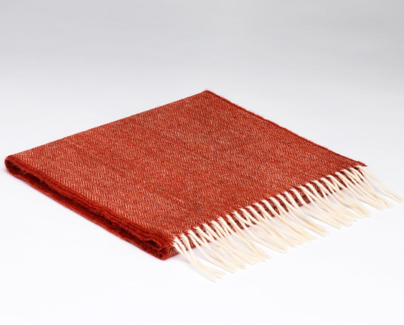 Lambswool Scarf Tabasco