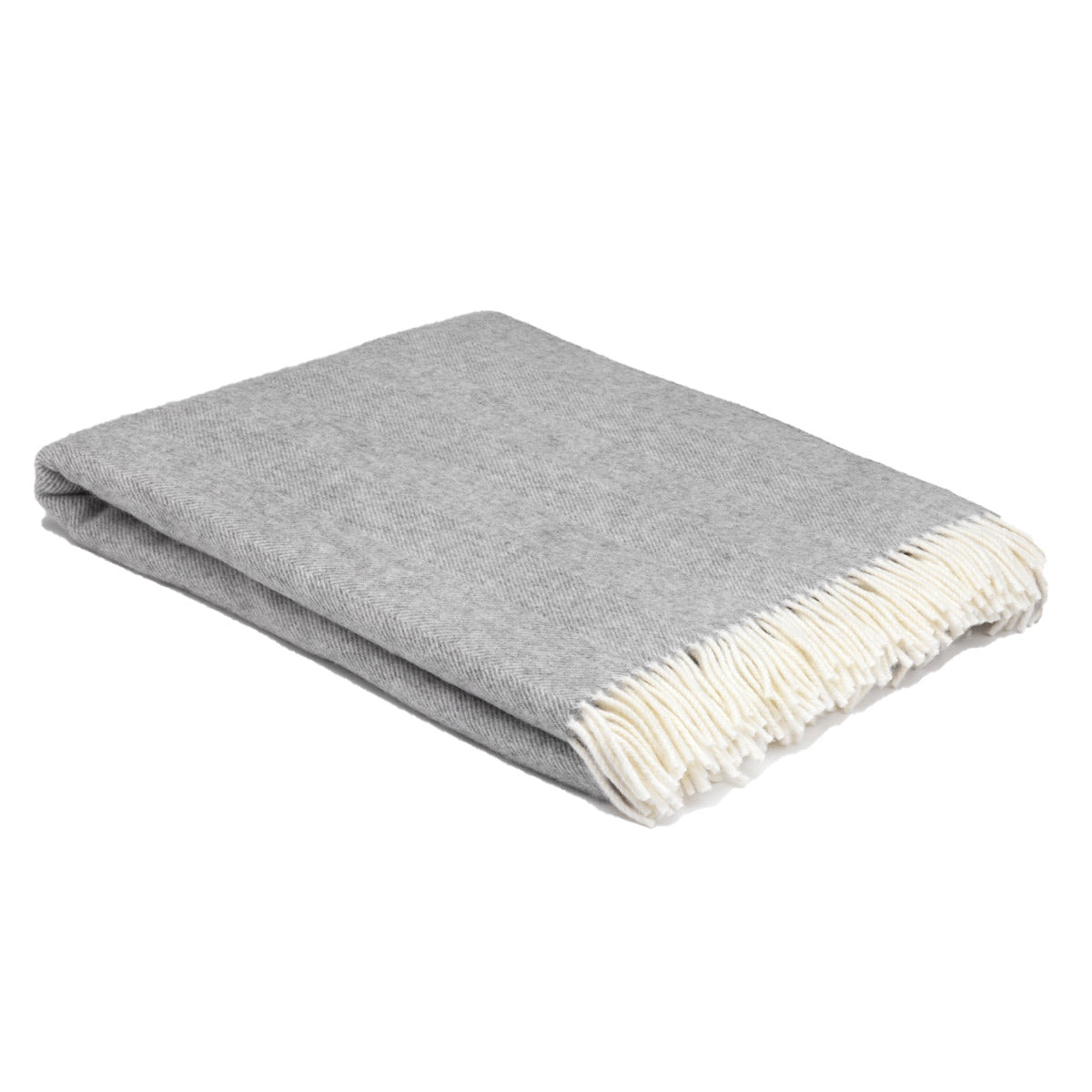 Lambswool Blanket Grey