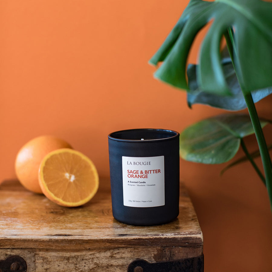 Sage and Bitter Orange Candle
