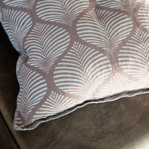 Cushion Cover, Linen, Nude