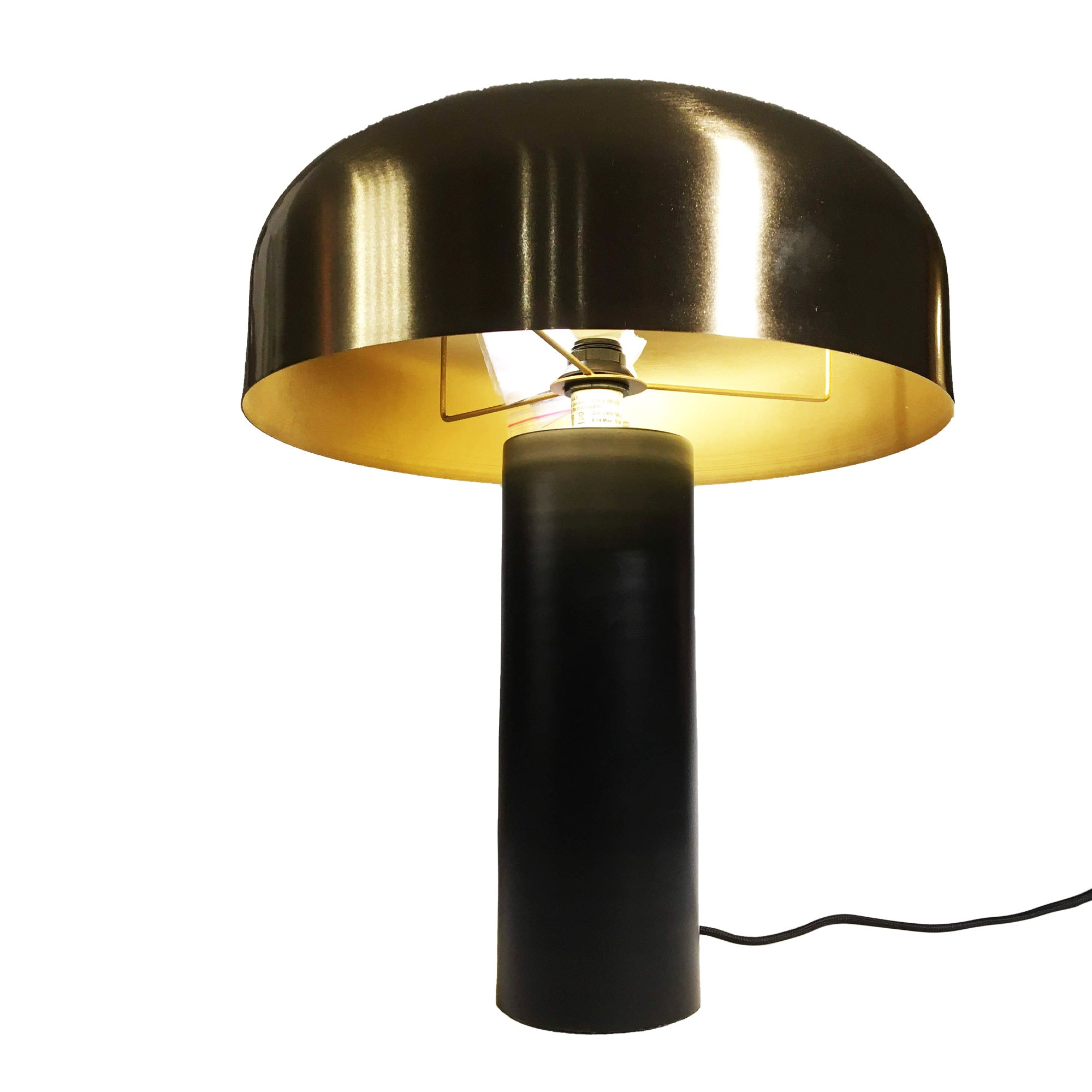 Champart Lamp Black and Gold