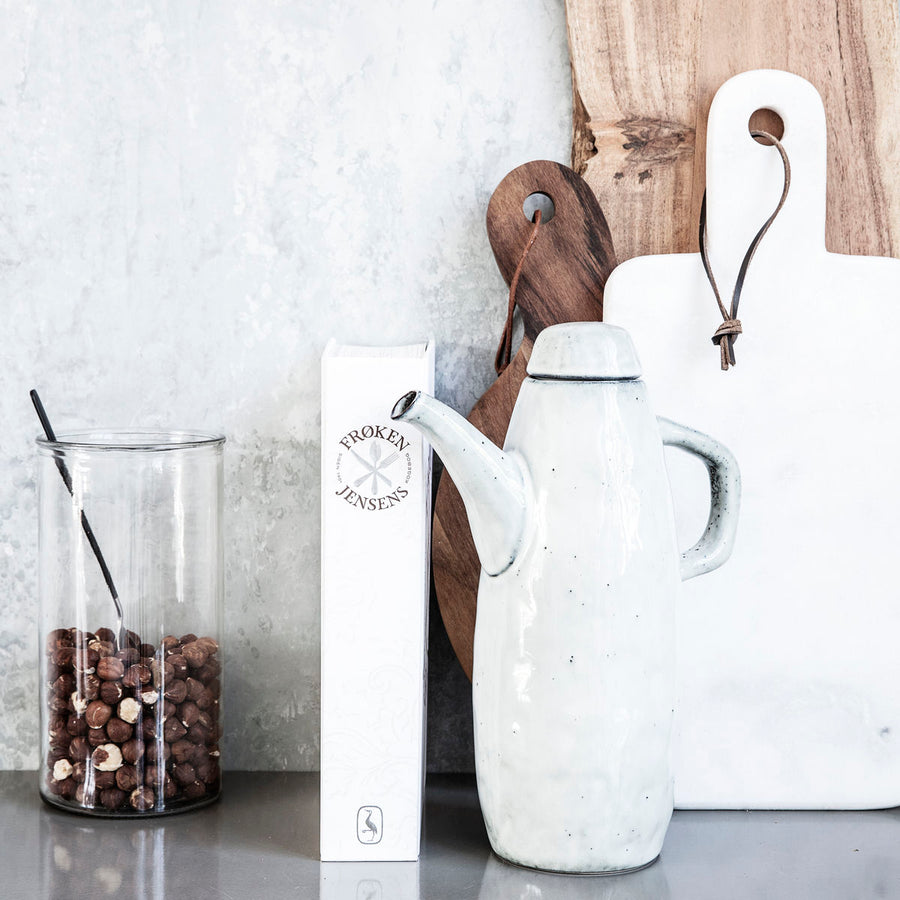 Rustic Jug with Lid