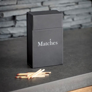 Match Box in Carbon - Steel