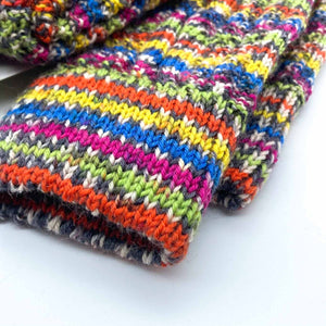 Fair Isle Long Sock Women