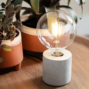 Danvers Table Lamp - Concrete