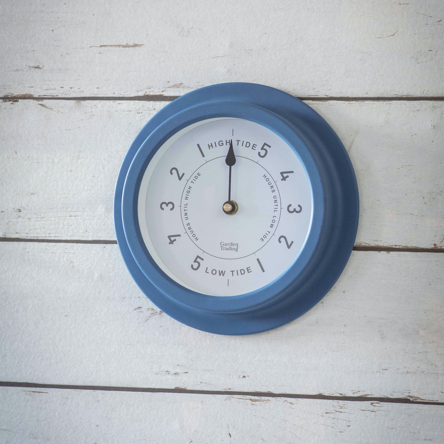Narberth Tide Clock in blue