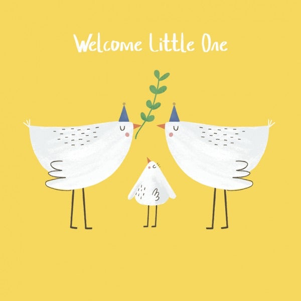 Artpress Card - Tweet Alert - Welcome Little One