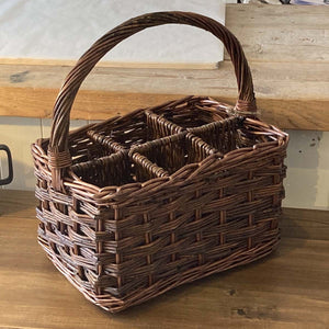 Roseal Willow Basket for bottles