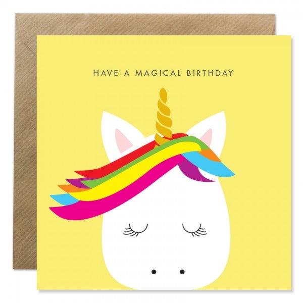 Bold Bunny Card - Magical Birthday