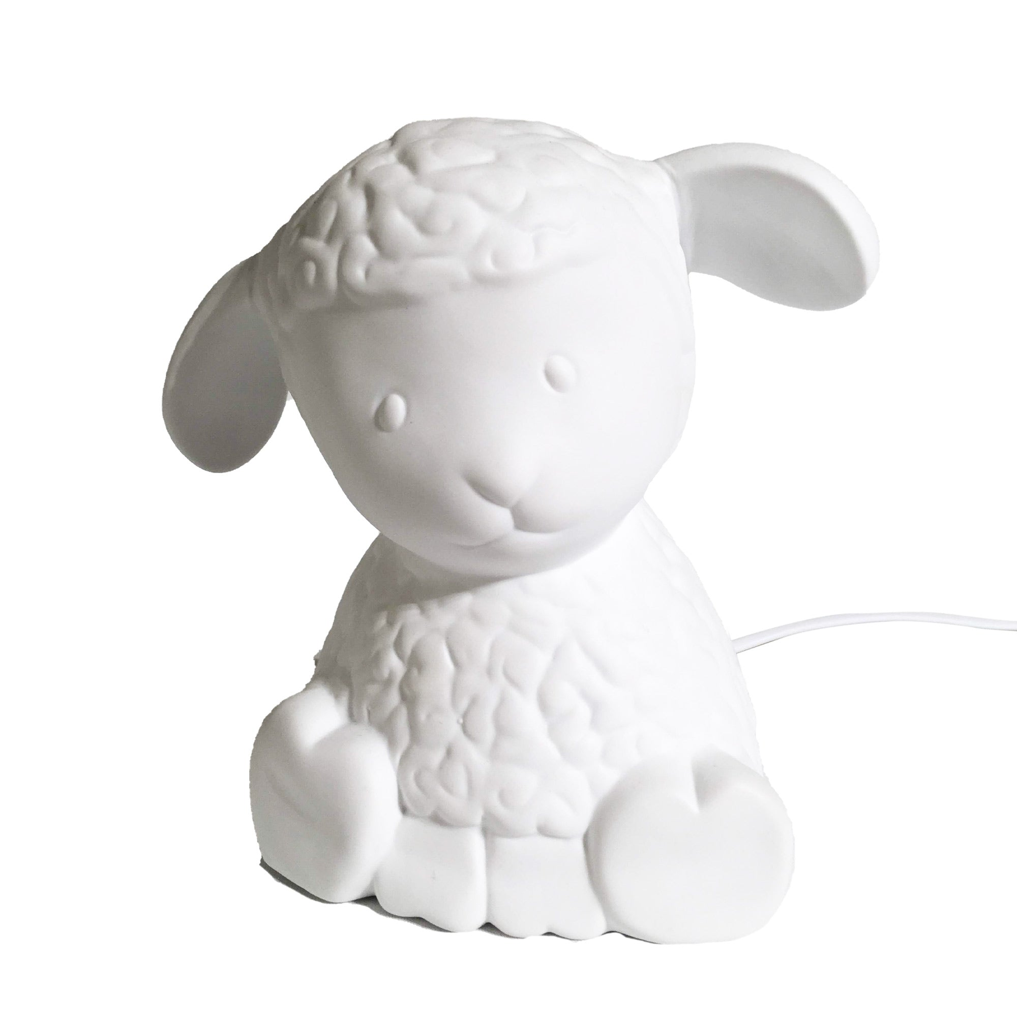 Porcelain Sheep Lamp