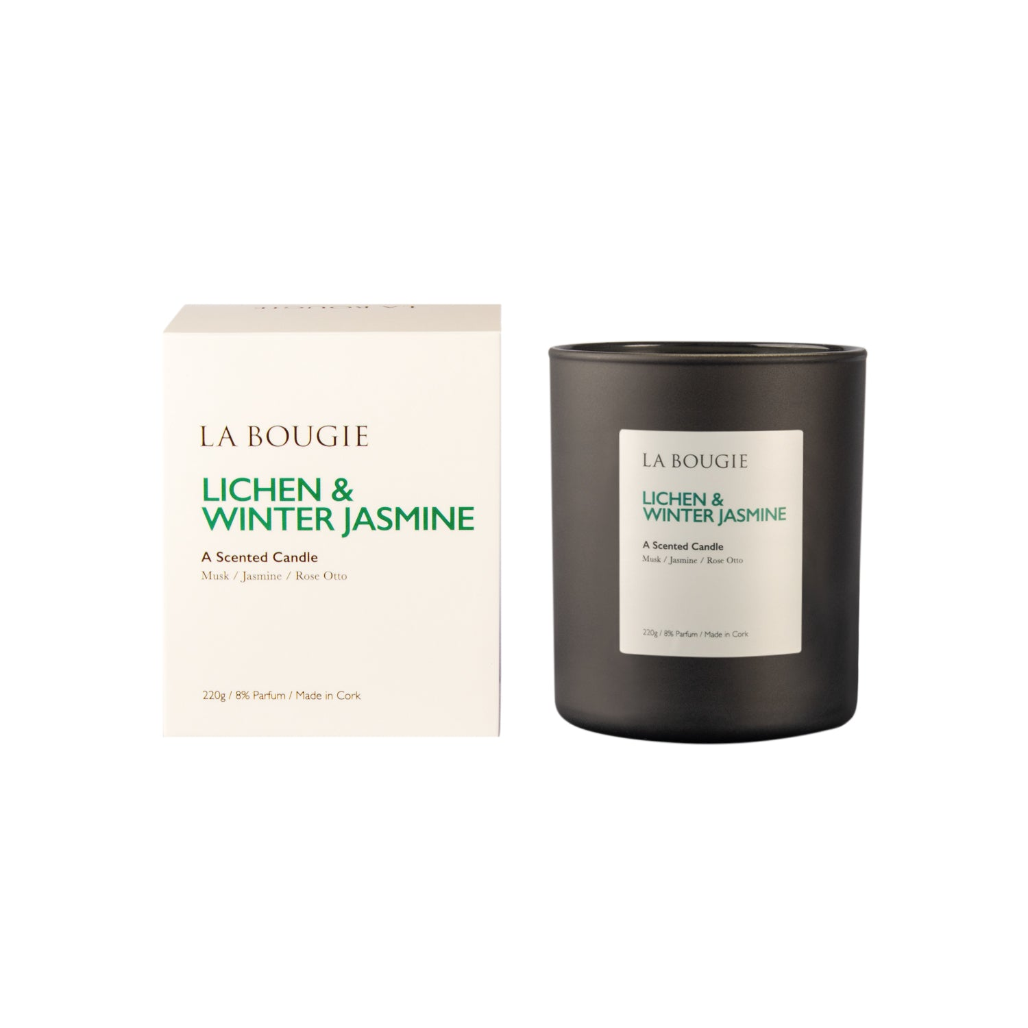Lichen and Winter Jasmine Candle