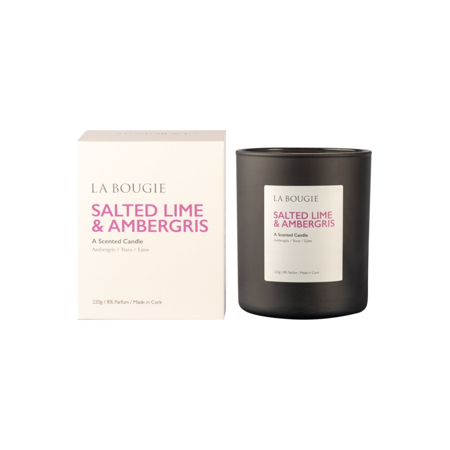 Salted Lime and Ambergris Candle