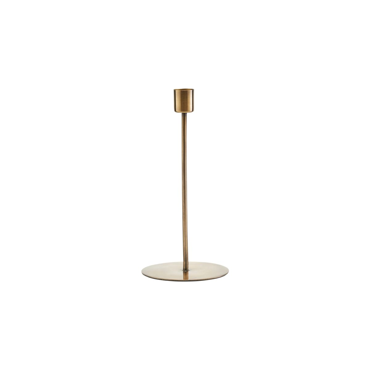 Anit Candle Stand Brass Finish