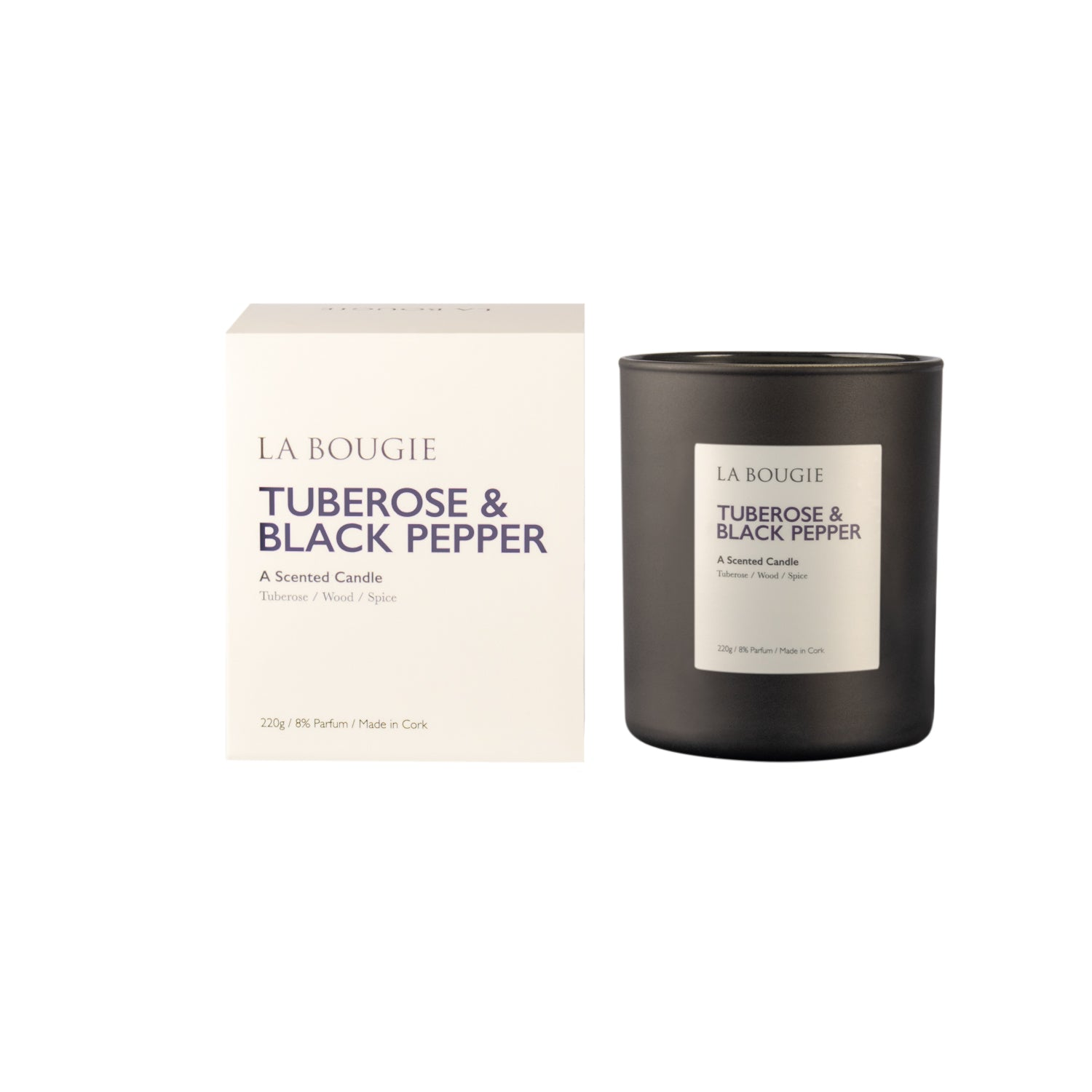 Tuberose and Black Pepper Candle