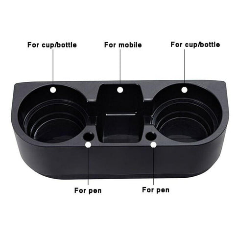 Image of Seat Gap Filler with Cup Drink Holder