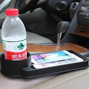 Car Cup Holder With Tray - Ampm.pk