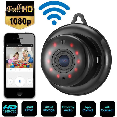 Image of HD 1080P Wireless WiFi Smart Home Security IP camera - Ampm.pk