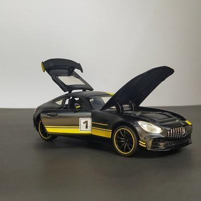 Image of Metal Body Mercedes-Benz AMG GTR 1:32 Scale ( With Light And Sound)