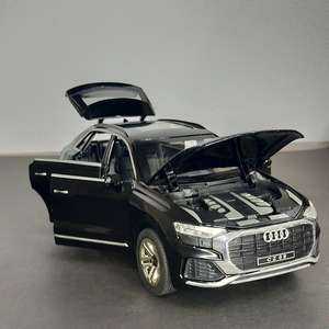 Metal Body Audi Q8 1/24 Scale (With Light and Sound)