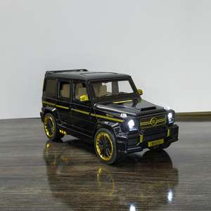 Metal Body Mercedes-benz Brabus G65 Light And Sound