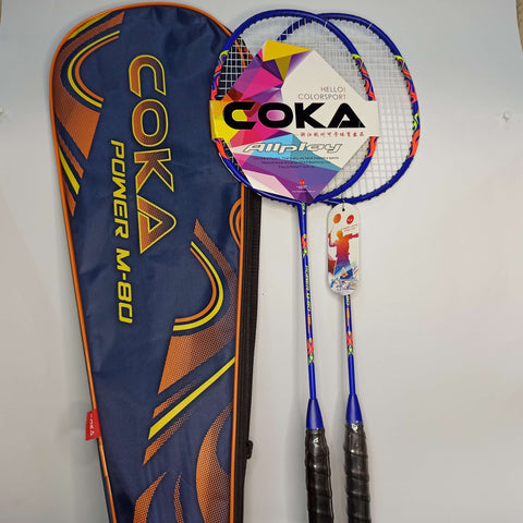 Badminton Tennis T Less Iron With Bag