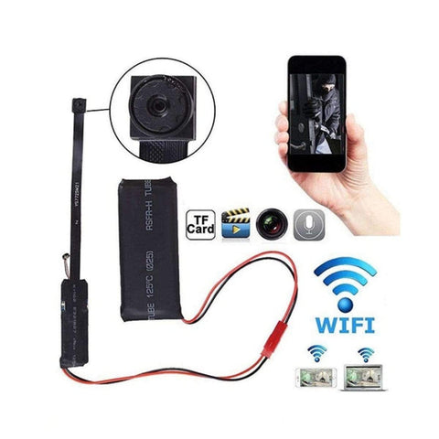 Image of Ip Wireless Camera Wifi 1080p With Battery S06 Smallest Cam - Ampm.pk