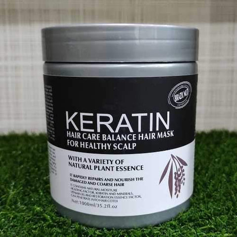 Image of Keratin Hair Mask & Treatment Brazil Nut 1000ml - Ampm.pk