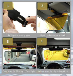 Car Windshield Anti-Glare Visor Extender - Ampm.pk